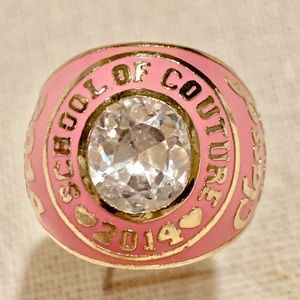 Juicy Couture limited edition ring charm
